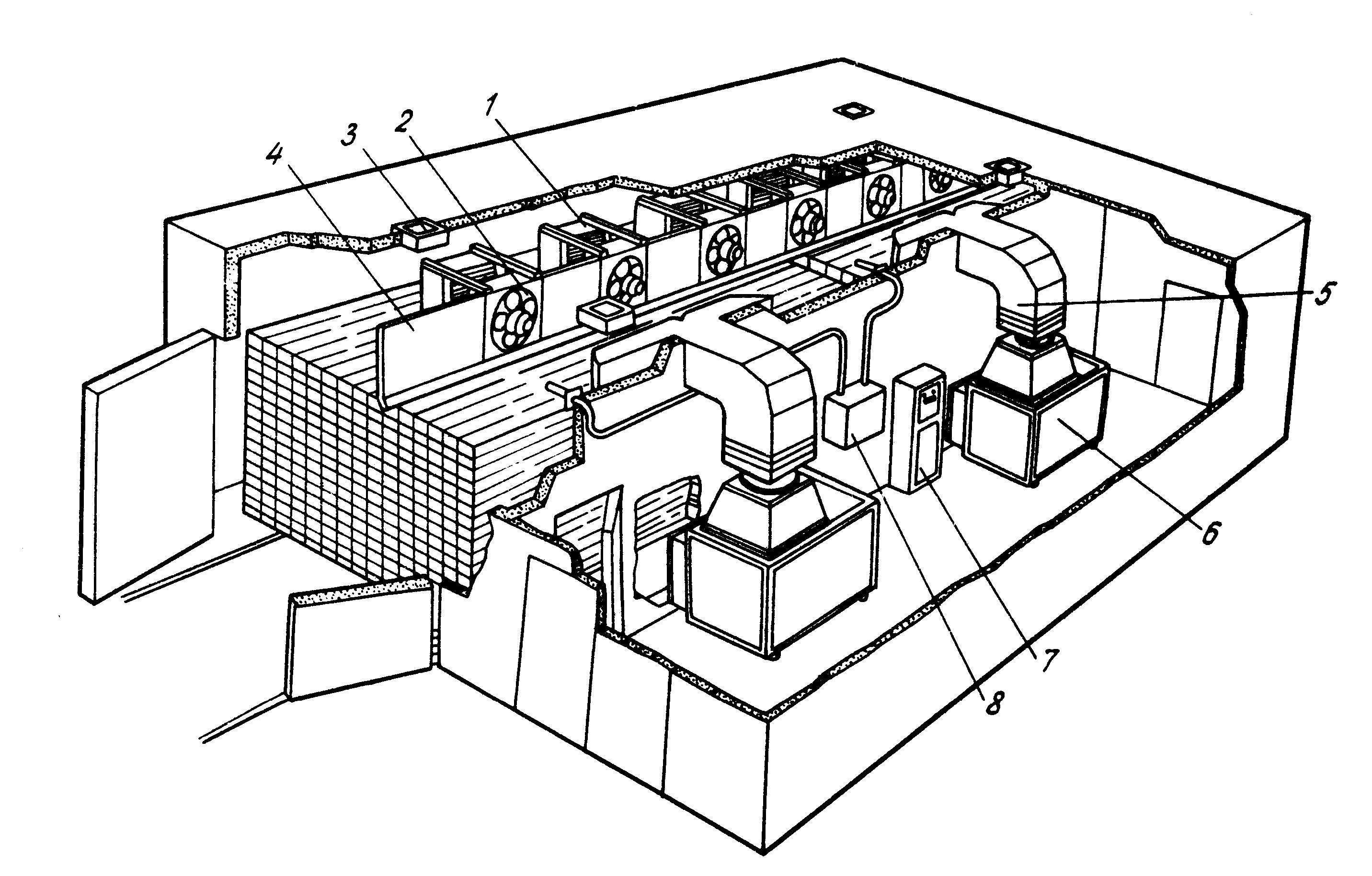 электрическая схема конвективной сушки