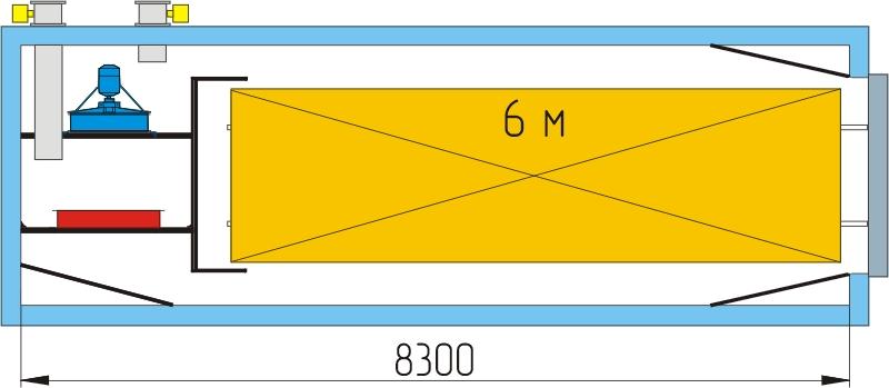 Технологическая схема камеры